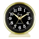 Equity by La Crosse 12020 Key-Wound Alarm Clock, White