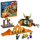 LEGO 60293 City Stuntz Stunt-Park, Set mit schwungradbetriebenem Motorrad, Spinnenkäfig und Rennfahrer-Minifigur, Spielzeug für Kinder ab 5 Jahren