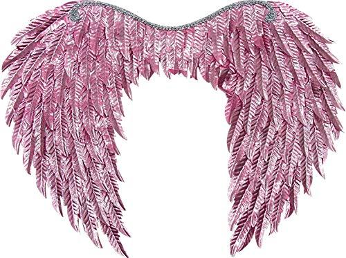 Forum Novelties Metallic Wings, Light Pink, One Size