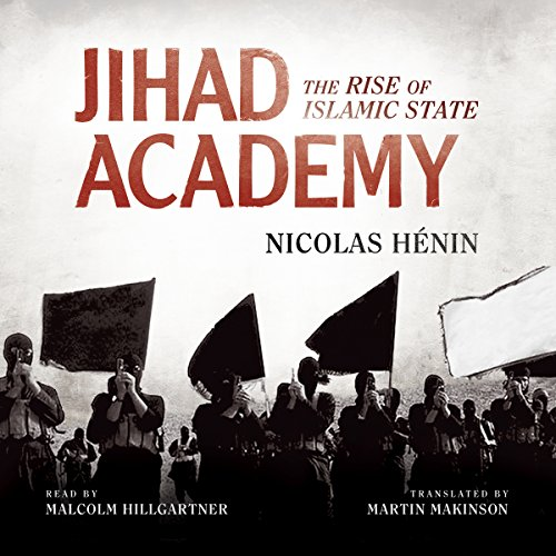 Jihad Academy audiobook cover art
