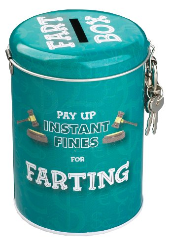 Boxer Gifts Farting Fine Money Tin | Funny Gift for Husband Dad Boyfriend |...