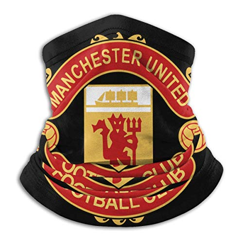 NA Masque facial de protection multifonctionnelle Manchester United Open Balaclava Half Mask Magic Scarf