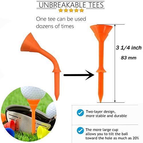 Amy Sport Golf Club Cleansing Kit Value 14 Pack Microfiber Towel Retractable Brush Divot Repair Tool 6 Heads Groove Sharpener Golf Ball Alignment Marking Liner Unbreakable Plastic Big Cup Tees Set