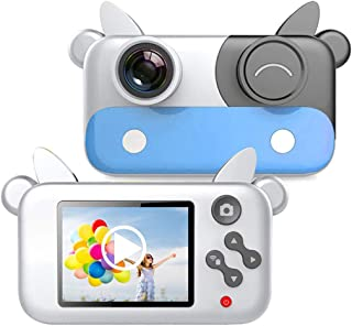 boxoon Children Digital Camera 32GB Fun Cow Design Portable Kids Video Camera with Lanyard USB