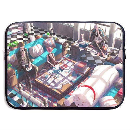 Laptop Sleeve Bag Gintama Tablet Briefcase Ultraportable Protective Canvas for 13 Inch MacBook Pro/MacBook Air/Notebook Computer BAG-334