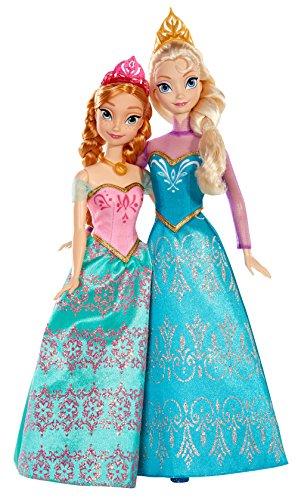 Reine des Neiges Disney Princesses - Bdk37 - Poupée Mannequin Coffret Duo Anna Et Elsa