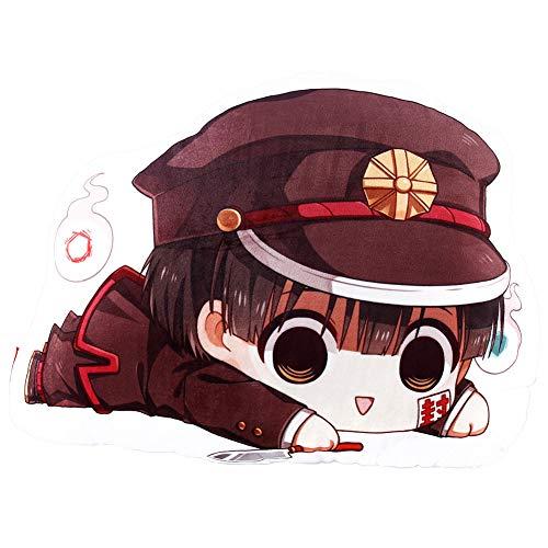 Saicowordist Hanako-kun - Almohada de anime con diseño de anime de doble cara con estampado de dibujos animados Yugi Amane
