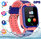 HAN-GANG Kids Smart Watch Phone GPS + LBS Children Locator with SOS Camera