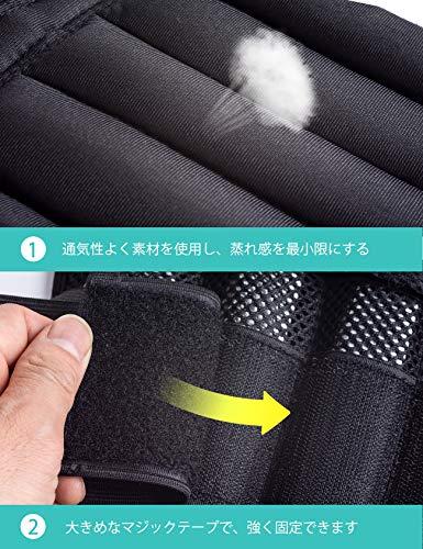 2個組足首腕用エクササイズ体幹トレーニング洗濯可ABJ-GT005(6)