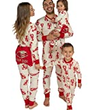 Lazy One Flapjacks, Matching Pajamas for The Dog, Baby & Kids, Teens, and Adults (Lobster Trap Door, 8)