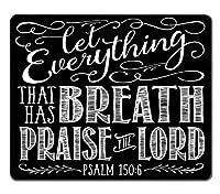 面白い引用、クリスチャン聖書の一節の引用呼吸を持っているすべてのものがコンピュータを賞賛しましょう