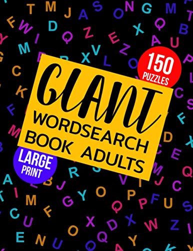 Giant Wordsearch Book Adults: 150 Puzzles Keep Your Brain Sharp & Entertained : Brain Games Word Search Books For Adults Large Print : Wordsearches ... : Wordsearch Book For Adults 2021 (42)