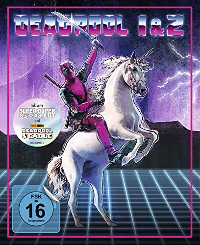 Deadpool 1+2 Ultimate Unicorn (3-BD) [Blu-ray] [Limited Edition]