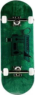 NOAHWOOD X Fingerbird PRO Fingerboards ( 6-Layer Colour Maple Wooden Deep ConcaveHandmade DIY Deck Trucks Wheels/Set ) (99 x 34mm, Apple Green Sewing Machine)