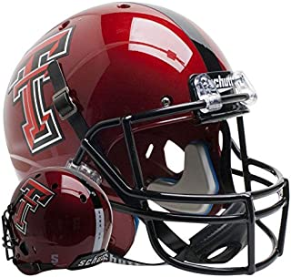 Texas Tech Red Raiders Guns Up Red Officially Licensed Full Size XP Replica Football Helmet