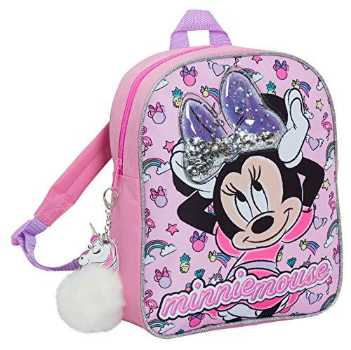 Disney Minnie Mouse Sac à dos à paillettes pour enfants