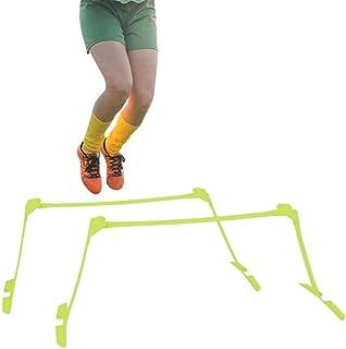 Tbest hastighetshindror justerbar höjd, 2 st sport agility hurdles fotboll hurdles set hastighet/smidighet träning hinder ...