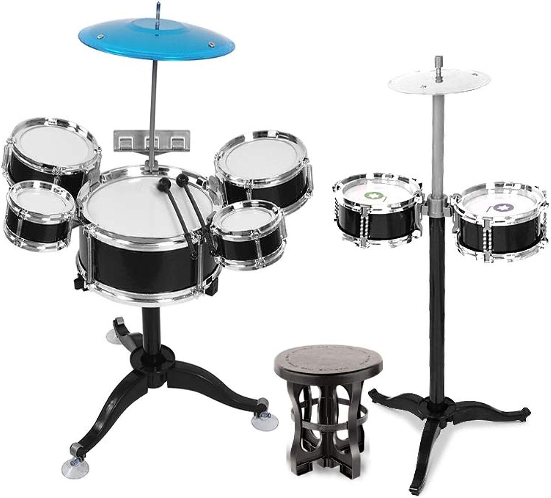 El nuevo outlet de marcas online. LINGLING-Tambor Tambores for for for Niños Baterías Juguetes Musicales Percusión Niño Educación temprana Rompecabezas 3-6 años (Color   negro)  mejor vendido