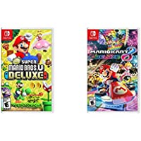 New Super Mario Bros. U Deluxe & Mario Kart 8 for Nintendo Switch