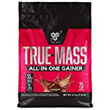 BSN True Mass All In One Weight Gainer Whey Protein Powder with Creatine, Glutamine and Vitamin D for Muscle Growth and Recovery, Chocolate, 4.2 kg, 25 Servings