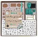 Toga KT74 Kit Bullet Journal, Carnet, Kraft, 15,5...