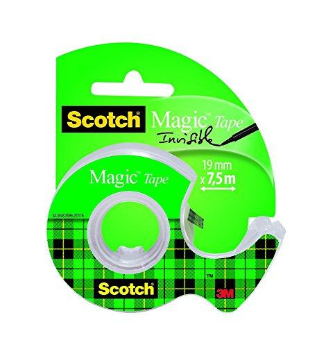 Scotch UU004245542 - Cinta invisible en portarrollos