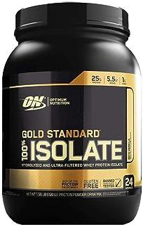Optimum Nutrition, Gold Standard, 100% Isolate, Rich Vanilla, 720G