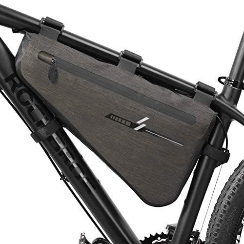 Neborn Fahrrad Dreieck Tasche Radfahren Vorne Rohr Tasche Rahmen Telefon wasserdichte Fahrrad Taschen Triangle Pouch Rahmen Halter Fahrrad Zubehör