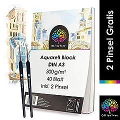 Aquarellblock A3 300g 40
