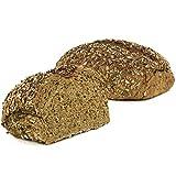 Vestakorn pan artesanal 'Vitalschrot' 750g - Pan de centeno mixto con semillas - pan fresco con masa madre natural