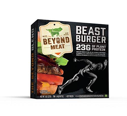 Beyond Meat, Beast Burger, 8 oz (Frozen)