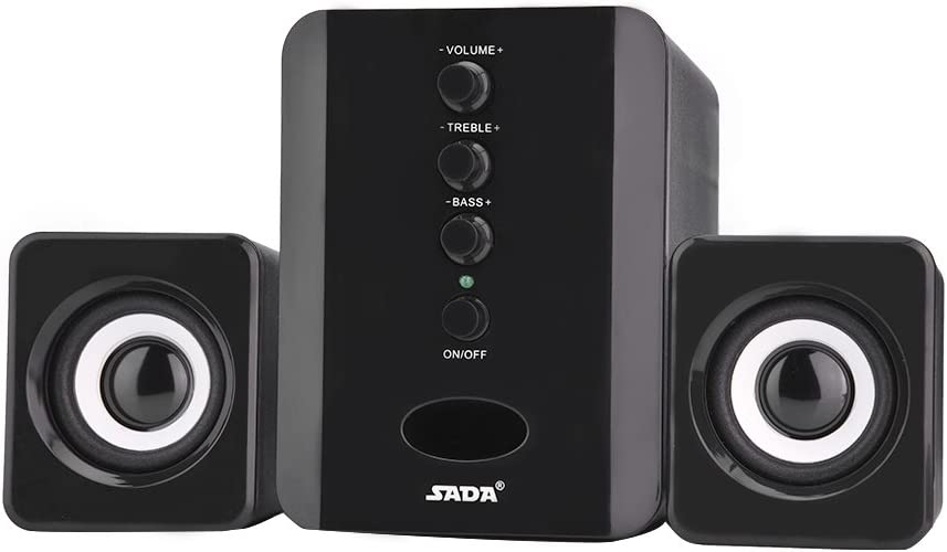 CUTULAMO Mini Subwoofer Bass Adjustment Outdo Sound Independent Max 85% OFF High quality