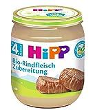 HiPP Bio-Rindfleisch-Zubereitung, 6er Pack (6 x 125 g) -