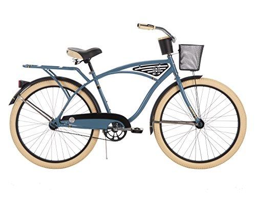 26-inch Huffy Deluxe Men's' Cruiser Bike,...