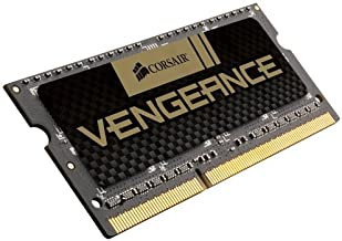 $33 » Corsair CMSX8GX3M1A1600C10 Vengeance 8GB (1x8GB) DDR3 1600 MHz (PC3 12800) Laptop Memory- 1.5V