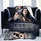Wabaodan Law and Order SVU Tonight Cast Ultra-Soft Micro Fleece Blanket 60'' X50