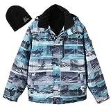 ZeroXposur Men's Flash Softshell Jacket with Hat (XL)