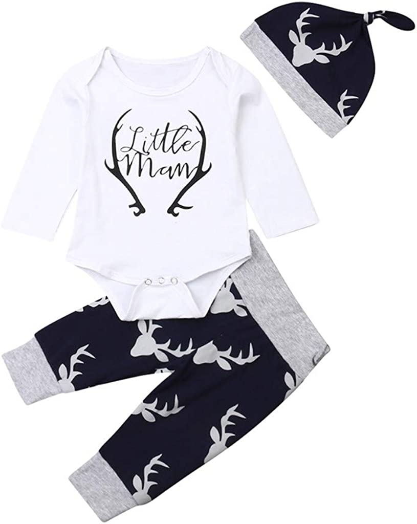 YELTY6F My Patronus is A Sloth Printed Newborn Baby Jumpsuit Long Sleeve Romper White