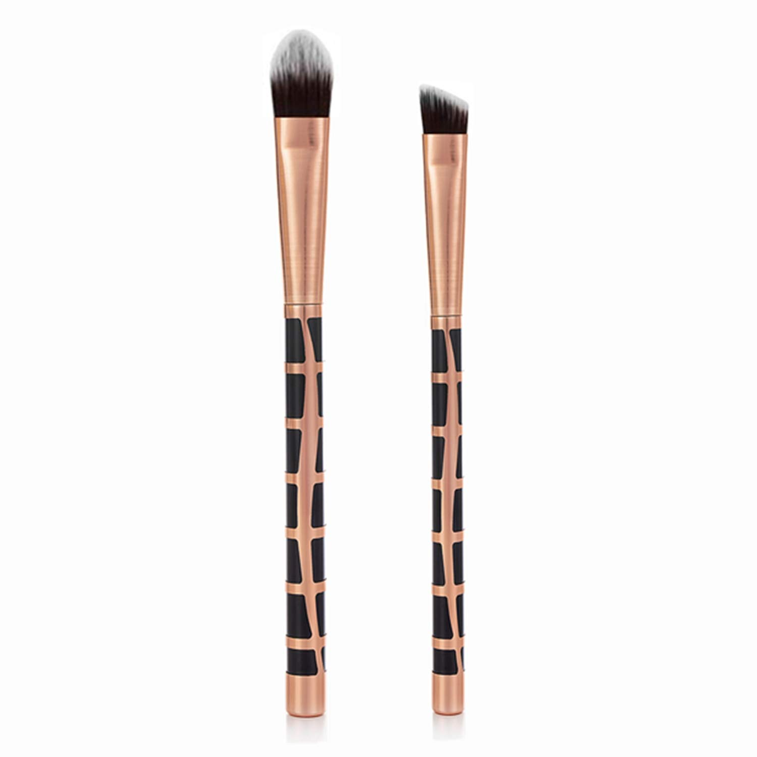2Pcs Precision Concealer Makeup Translated Brushes Eye At the price of surprise Under for Blending
