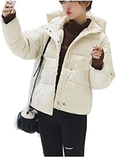 neveraway Women Down Jackets Thickened Mini Warm Baggy Plus-Size Outdoor Coat