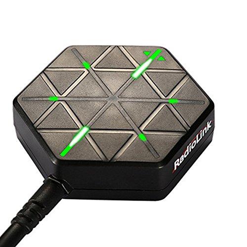 Faironly Radiolink M8N - Módulo GPS UBX-M8030 f ̈1r Naze32 APM CC3D SP F3 Naze32 Flip32 PX4