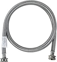 Certified Appliance Accessories Washing Machine Hose, Hot or Cold Water Supply Line, 6 Feet, PVC Core with Premium Braided Stainless Steel