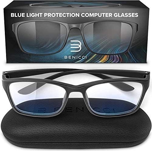Stylish Blue Light Blocking Glasses for Women or Men Ease Computer and Digital Eye Strain Dry product image