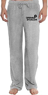 Hefeihe OpenAir St Gallen 2016 Men's Sweatpants Lightweight Jog Sports Casual Trousers Running Training Pants