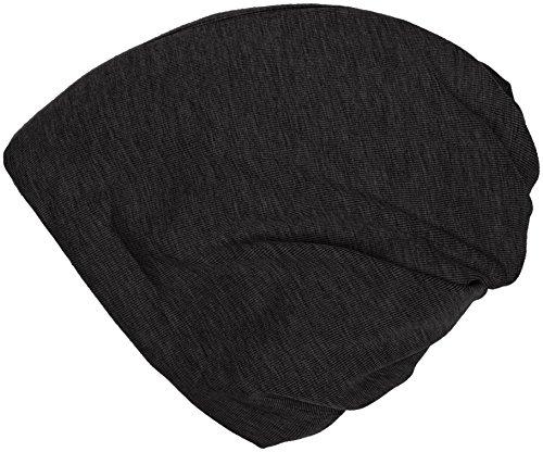 MSTRDS Beanie Bonnet 2 en 1 Unisexe Noir Taille Unique