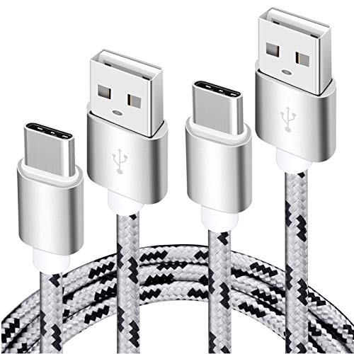 Google Pixel 2 Charging Cable,15FT 2Pack USB Type C Cable,Extra Long Fast Charger Braided Cord, USB C-A Charging Cable for Samsung Galaxy S9/S8 Plus/Note 8,Pixel XL,LG V30/V20/G7/G6/G5,Nintendo Switch