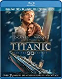 *NEW* Titanic (Blu-ray 3D+2D, 2012, 4-Disc Set) English,Russian,Czech,Ukranian