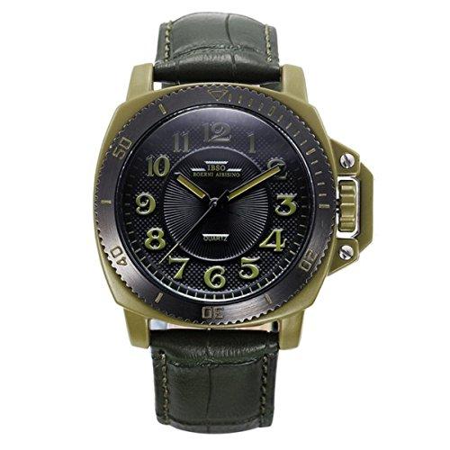 Panerai estilo relojes de cuarzo para hombre reloj deportivo analógico con banda auténtica 3821
