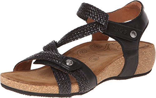Taos Footwear Women's Trulie Leather Sandal