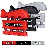 OTBBA Finger Strengthener Exerciser (3 Pack) - Improve Dexterity and Strength in...